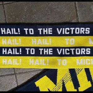 Adidas University of Michigan Fight Song Scarf